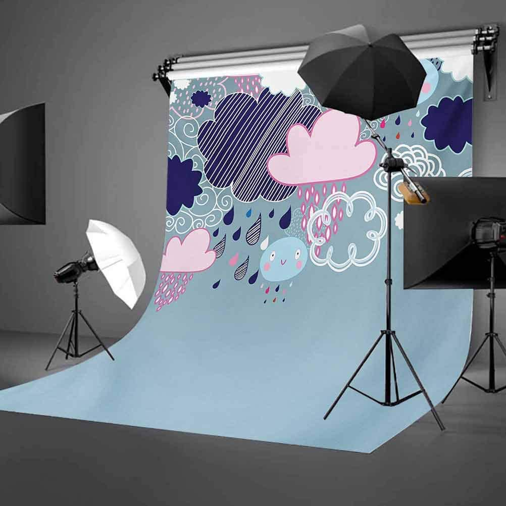 Geometrical Pattern with Abstract Design Thick and Thin Lines Tile Background for Kid Baby Boy Girl Artistic Portrait Photo Shoot Studio Props Video Drape Vinyl 10x15 FT Photography Backdrop