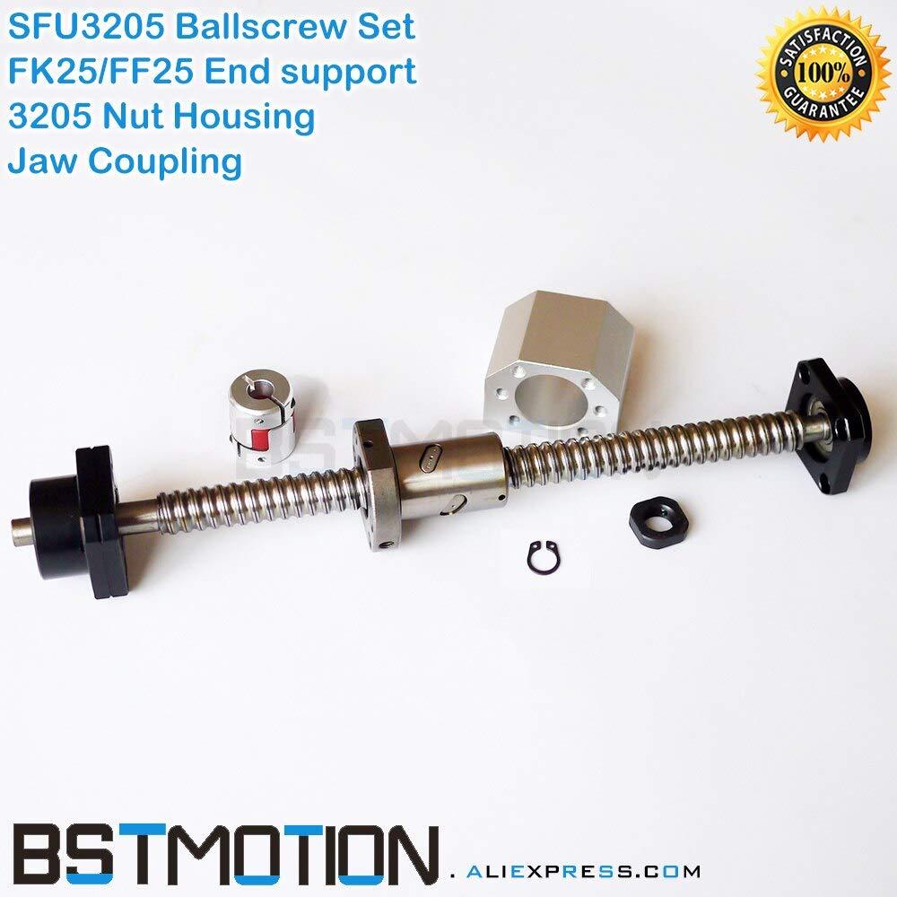 Amazon.com: Lysee SFU3205 Ball screw 400 500 600 700 800 900 ...