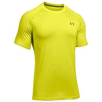 461a632b2 Under Armour 2017 Mens UA Tech SS T Shirt - Smash Yellow - 3XL ...