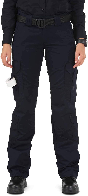 5.11 Tactical Women's Taclite EMS Pants, Dark Navy, 8/Long: Clothing