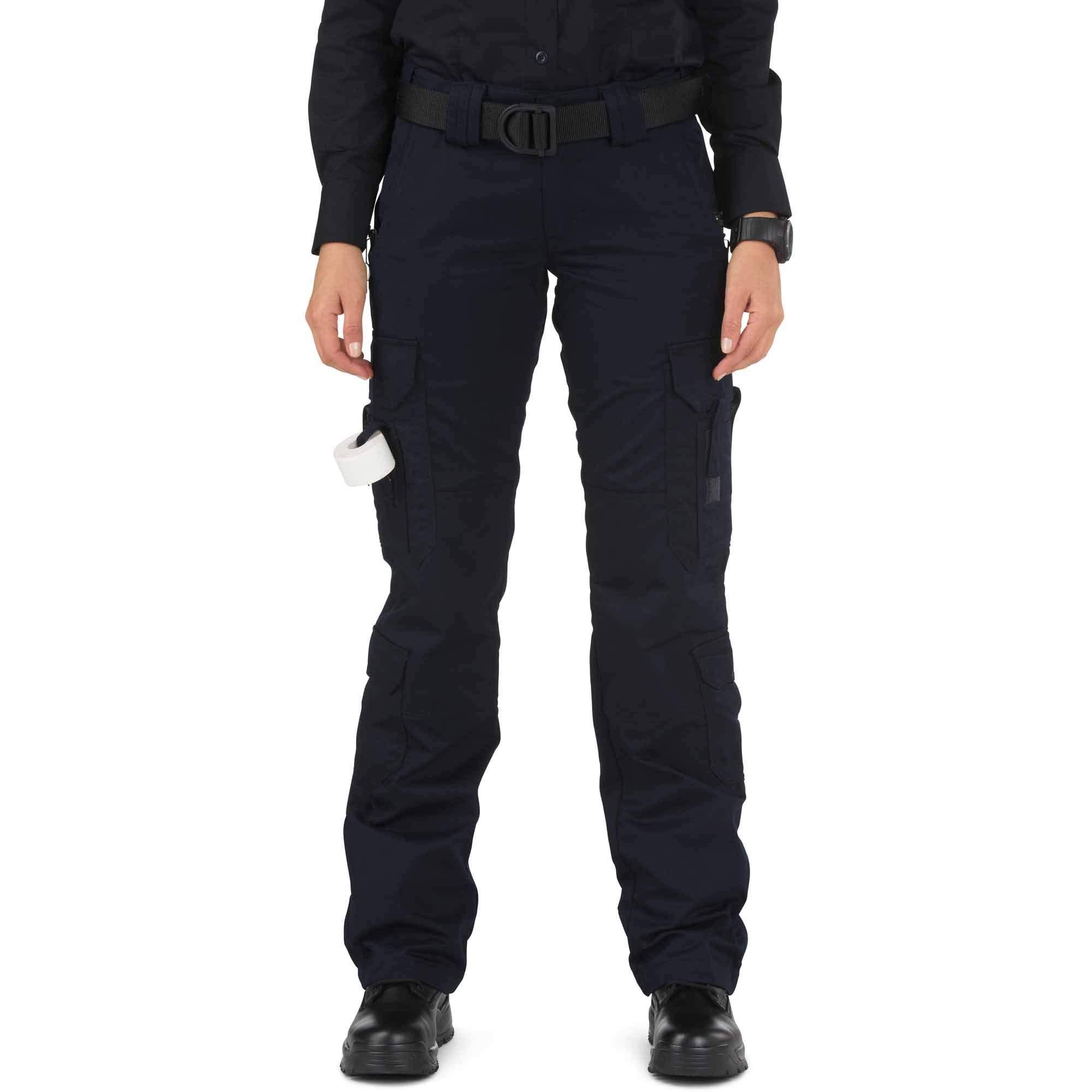 5.11 Tactical Women's Taclite EMS Pants Dark Navy 8/Long