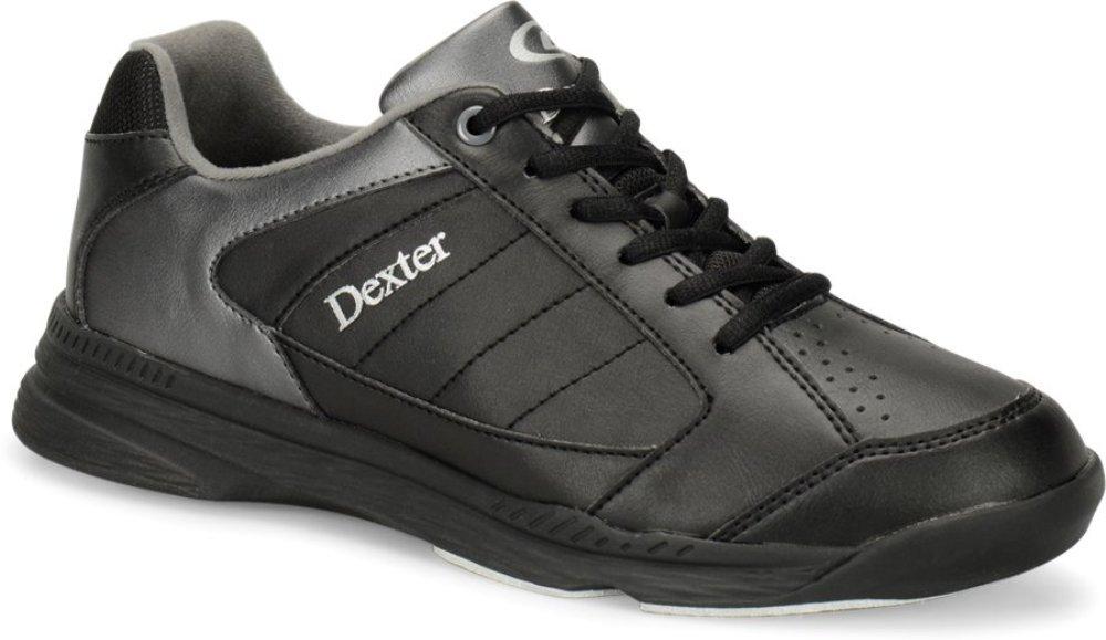 Dexter Men's Ricky IV Wide Bowling Shoes, Black/Alloy, Size 9 by Dexter