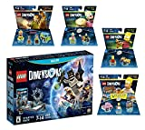 Lego Dimensions Starter Pack + Scooby Doo + Homer + Bart Simpson + Krusty Fun Pack for Nintendo Wii U Console