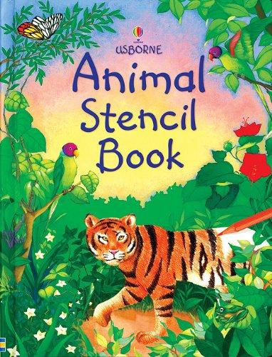 Read Online Animal Stencil Book (Stencil Books) pdf epub