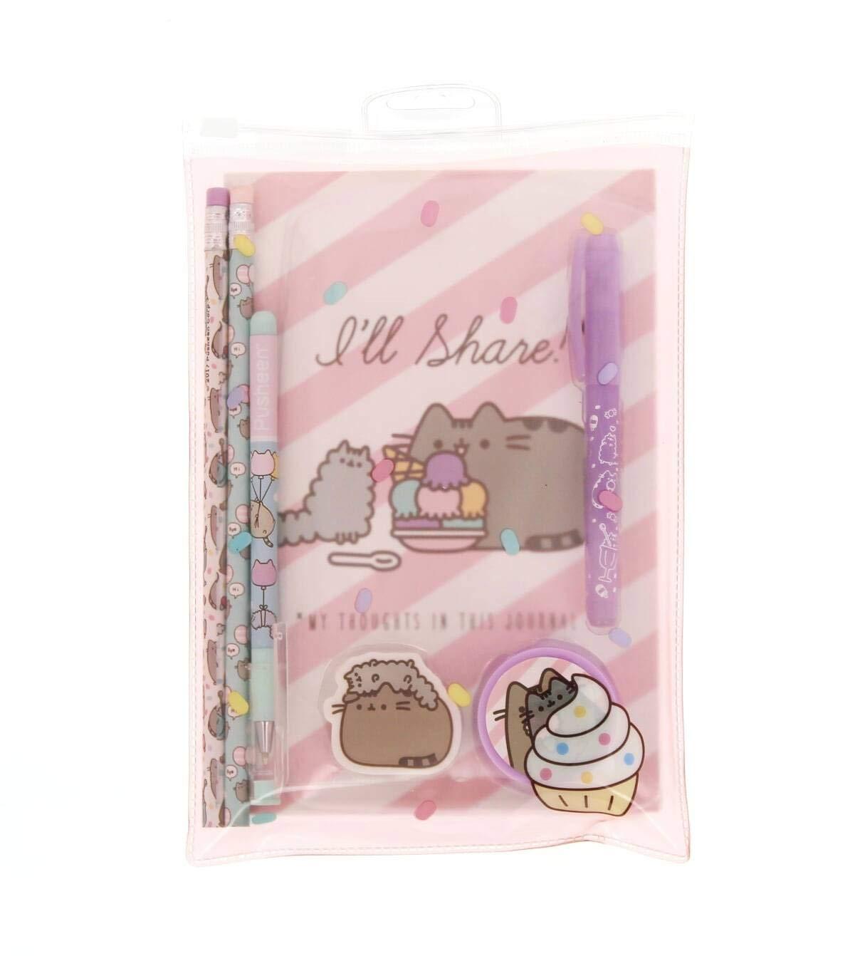 Blueprint PUSG2882 Pusheen- Producto Oficial Super Set Color Rosa Cute Cat papeler/ía