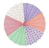 Mini Handmade Oiled Paper Umbrella, Decorative Umbrellas for Kids [C]