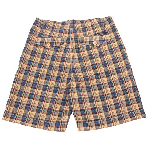 Men Woolrich Bermuda Pantaloni Vintage Blu Wash Shorts giallo 37763 Uomo 50gqdw5