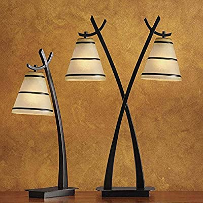 Kenroy Home 03334 Wright Lamps 30 5 Inch Height 20 Inch Width 9 5 Inch Ext Oil Rubbed Bronze Finish Amazon Com