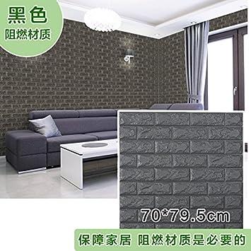 Generisches Selbstklebend 3D Wallpaper Dekoration Wohnzimmer Schlafzimmer  Fliesen Muster Hintergrund Ideen TV Wand Aufkleber Aufkleber