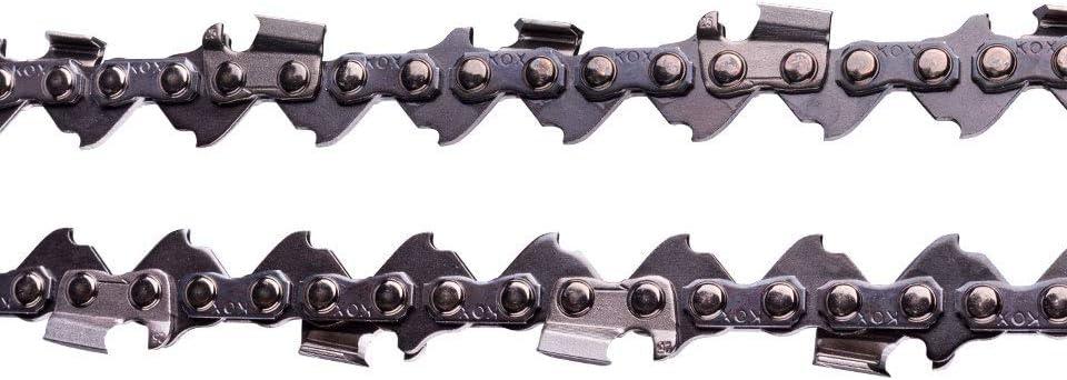 """2 Ketten passend für Dolmar 110 40 cm 325/"""" 66 TG 1,3mm Sägekette chain Schwert"""