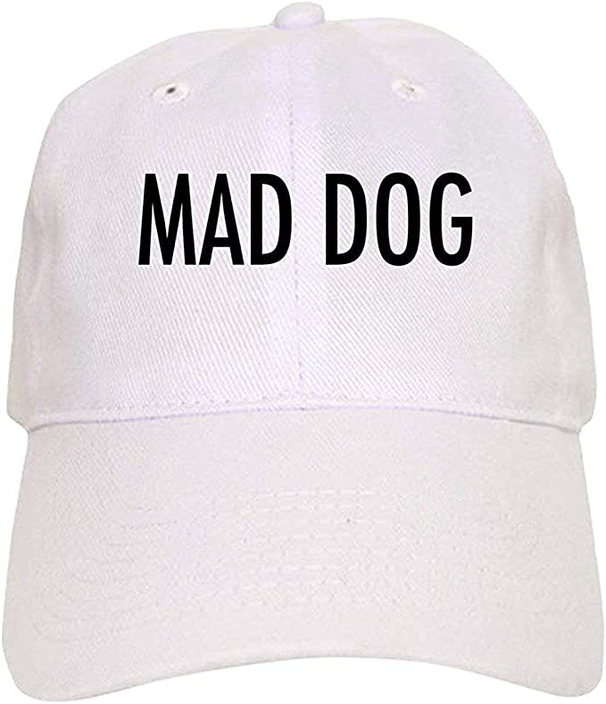 LUDEM Pet Word Mad Dog - Gorra de béisbol con Cierre Ajustable ...