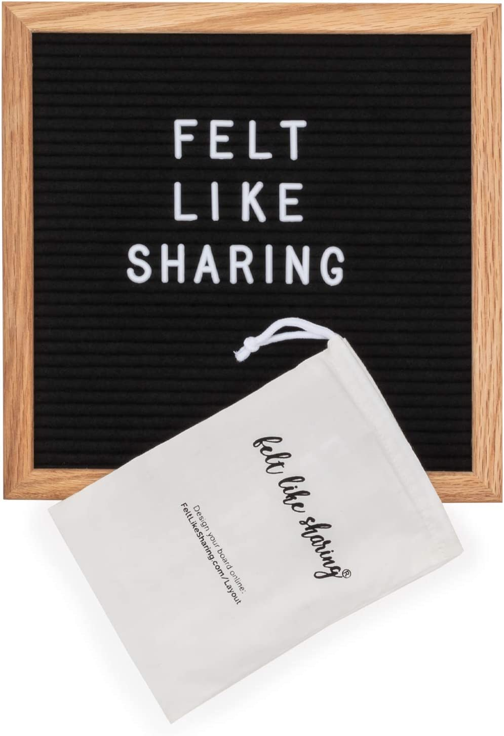 1 Inch Letters 300 Letters and Symbols ONLY Letter Board Changeable Letters Compatible with Most Felt Letter Boards.