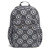 Vera Bradley Iconic Campus Backpack,  Signature Cotton, One Size