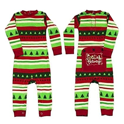 2017 Navidad familia juego Pelele pijama pijamas conjuntos para regalo Xams Mom Talla:L
