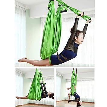 Juego de columpios de yoga aérea - Hamaca de yoga ...