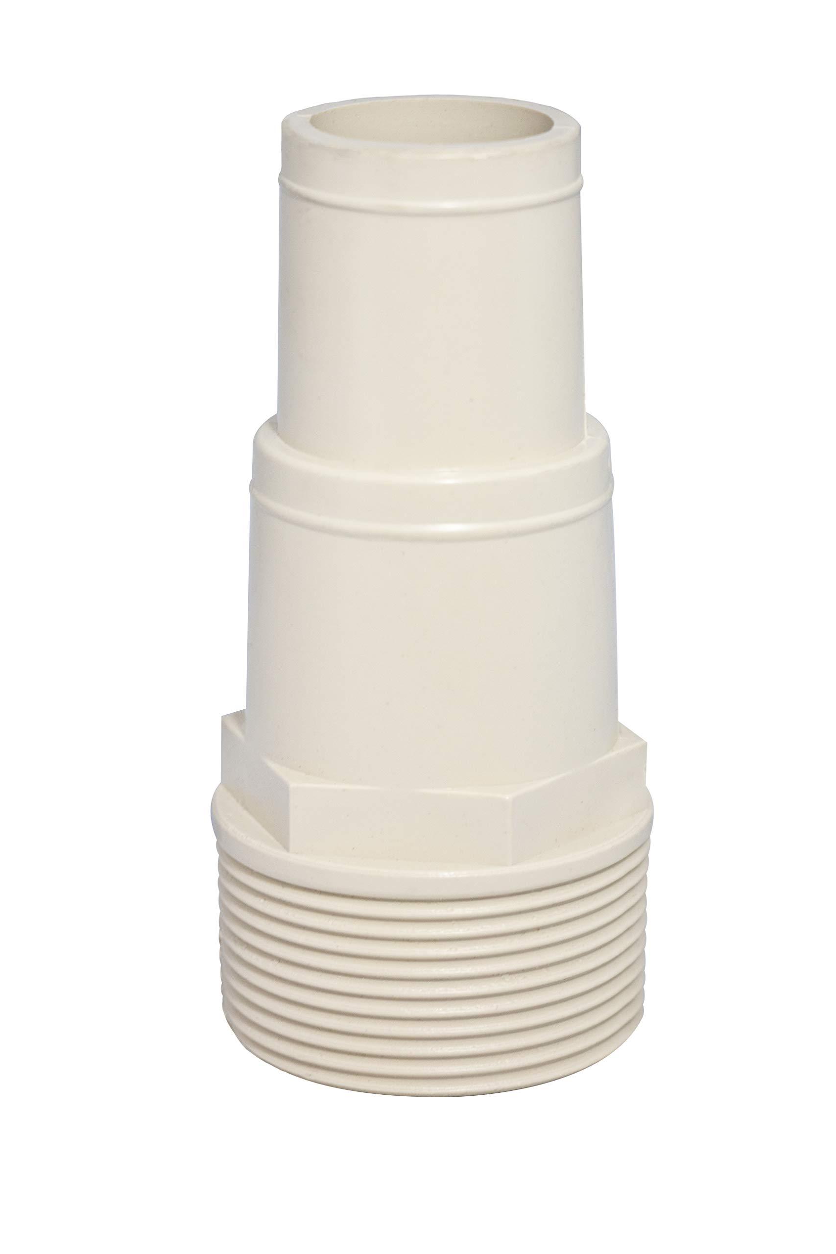 Swimline Hose 1 1 Adapter, White