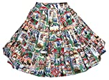 Rodeo Print Square Dance Skirt (Medium)