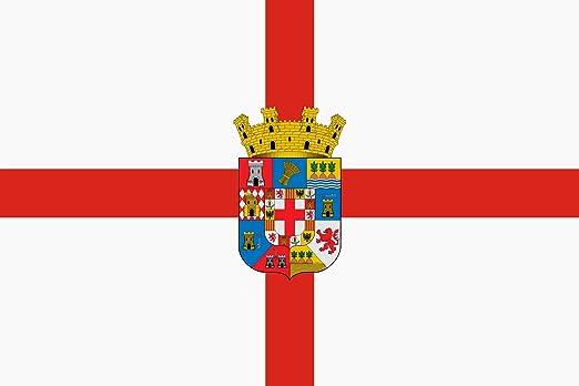 magFlags Bandera Large Provincia de Almería España Escudo ...