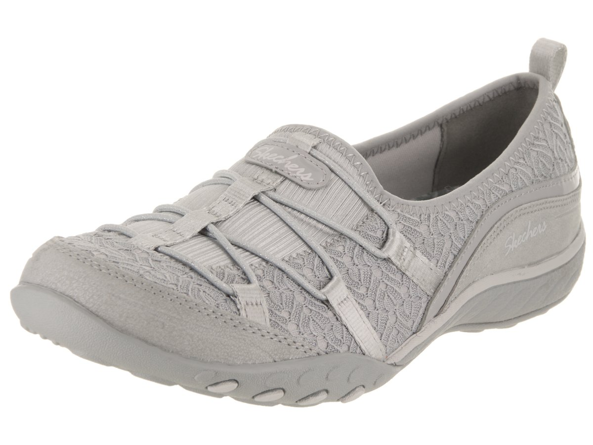 Skechers Women's Breathe-Easy - My Muse Casual Shoe B07C83WZ6P 5 B(M) US|Light Grey