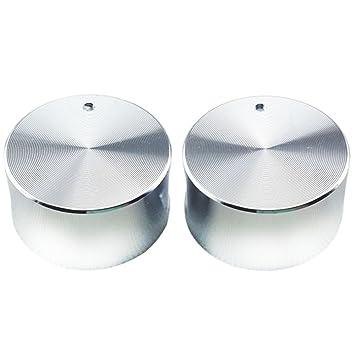 Juego de 2 pomos para estufa, 8 mm, 0°Gas, aleación de zinc, universal, para cocina, estufa con chapado cromado para cocina de gas: Amazon.es: Hogar