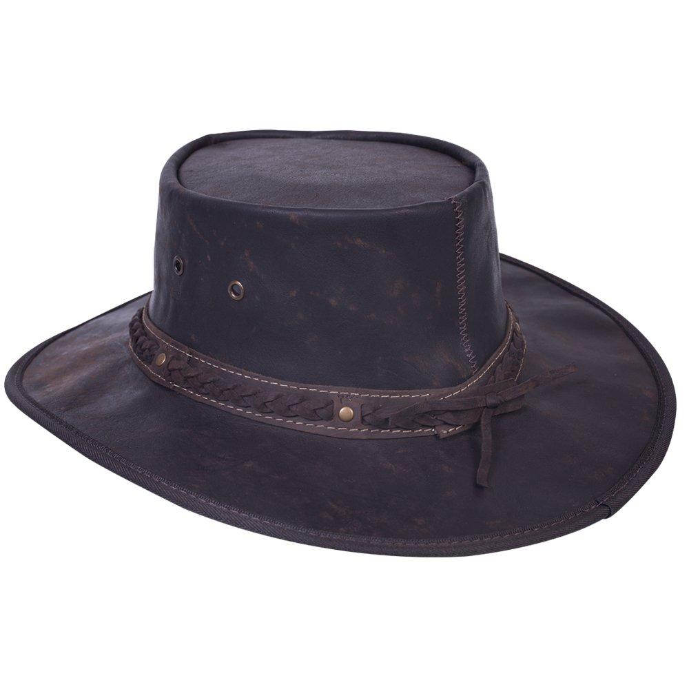 Barmah hat Sombrero de Piel de Canguro Australiano Plegable Mod 1018 e68940468a9