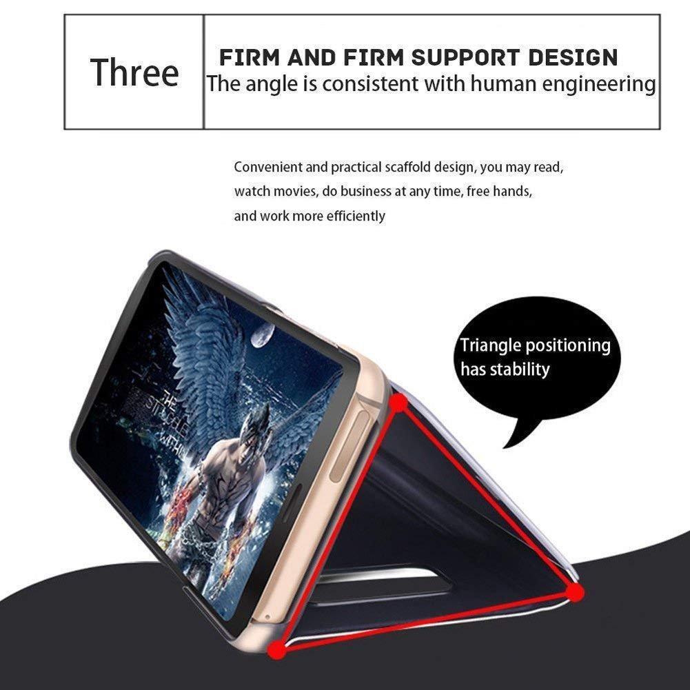 morado Carcasa para Samsung Galaxy A10 con efecto espejo Robinsoni