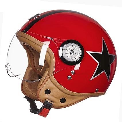 JPFCAK, Casco De Jet, Casco, Casco De Moto, Motocicleta, Casco,