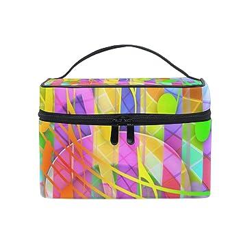 Amazon com : Cosmetic Bags Music Symbols Art Women Wash Bag Small