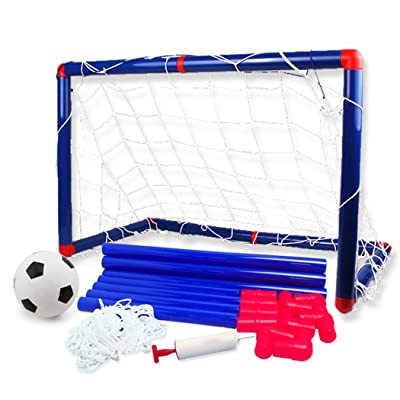Bageek Kids Soccer Goal Detachable Soccer Net Football Goal with Soccer Ball & Air Pump: Toys & Games