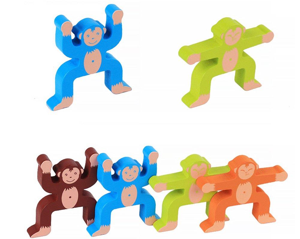 Holzspielzeug Lewo Holzspielzeug Stapeln Spielzeug Lernspielzeug Für Mädchen Jungen Kinder