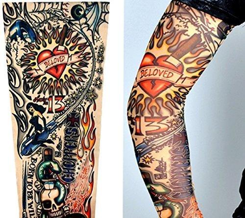 Modelo W09 - Mangas Tatuajes Falsos - Usable - Manga - Tatuaje ...