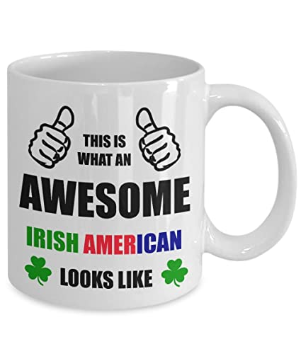 Amazon Com Funny Birthday Gift For Irish American Mom Dad Mother