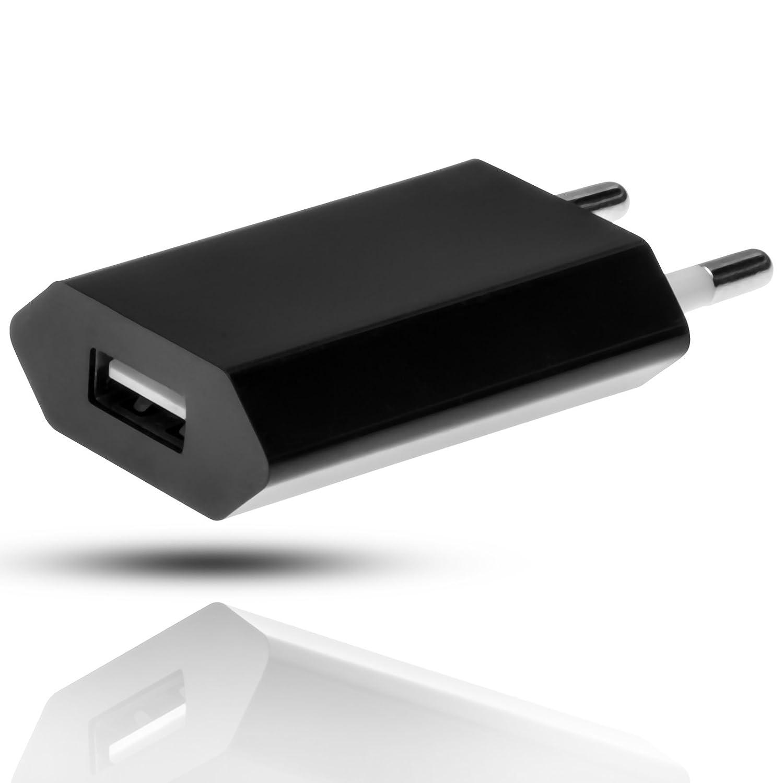 mobilefox/® Micro USB 3.0 Ladekabel USB Netzteil 3in1 Set f/ür Samsung Galaxy Note 3//S5 schwarz KFZ Ladeadapter