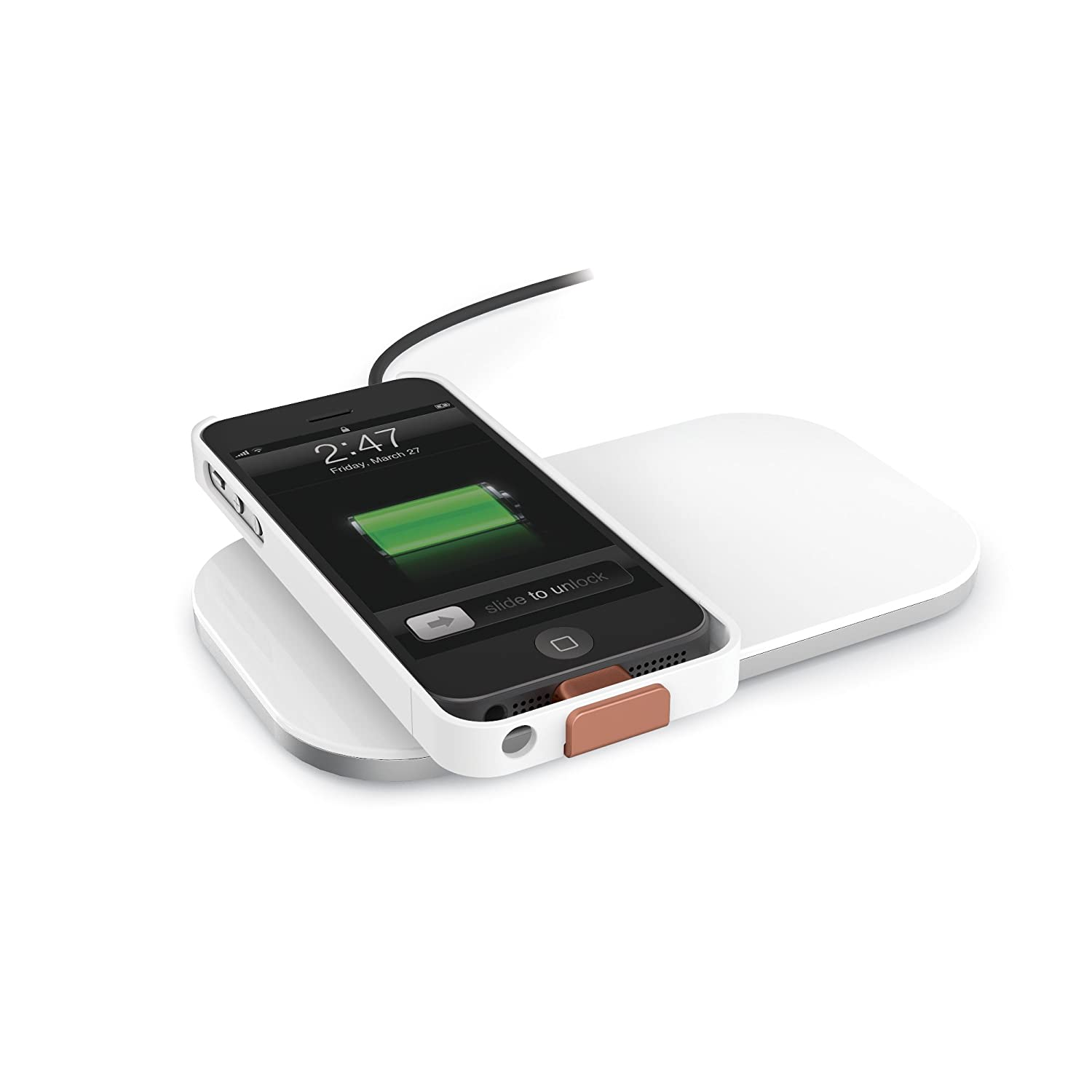 Amazon.com: Duracell Powermat AccessCase - Wireless Charging Case ...