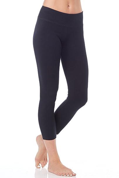 6b84eef38bcbfb Hyde Yoga Wren Legging Womens Active Workout Organic Yoga Leggings at  Amazon Women's Clothing store:
