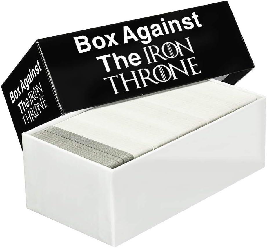 Juego de mesa Box Against The Iron Throne – Juego de mesa – Juego de fiesta