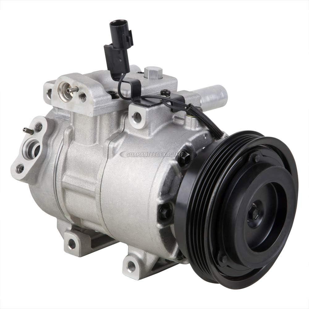 ECCPP A//C Compressor with Clutch CO 10980C fit for 2006-2011 Kia Rio Rio5