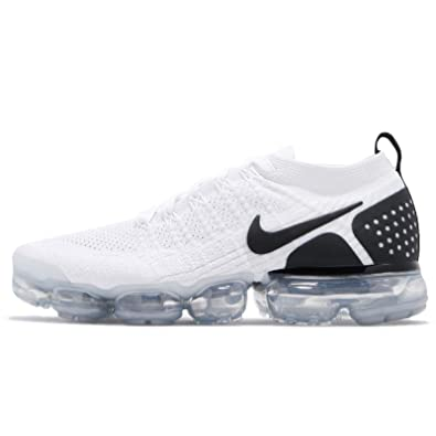 pretty nice 8009f cbdc6 Nike Men's Air Vapormax Flyknit 2, White/Black-Black: Amazon ...