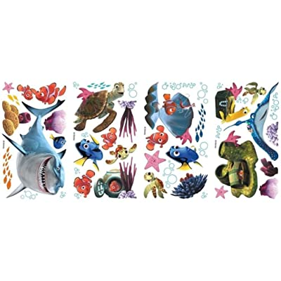 Defonia Finding Nemo 44 Big Wall Decals Kids Bathroom Stickers Room Decor Fish R1: Kitchen & Dining
