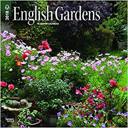 amazon english gardens 2018 calendar browntrout publishers travel