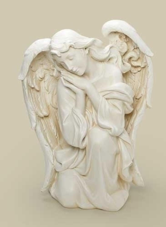 22.5'' Joseph's Studio Religious Kneeling Angel Outdoor Christmas Nativity Statue