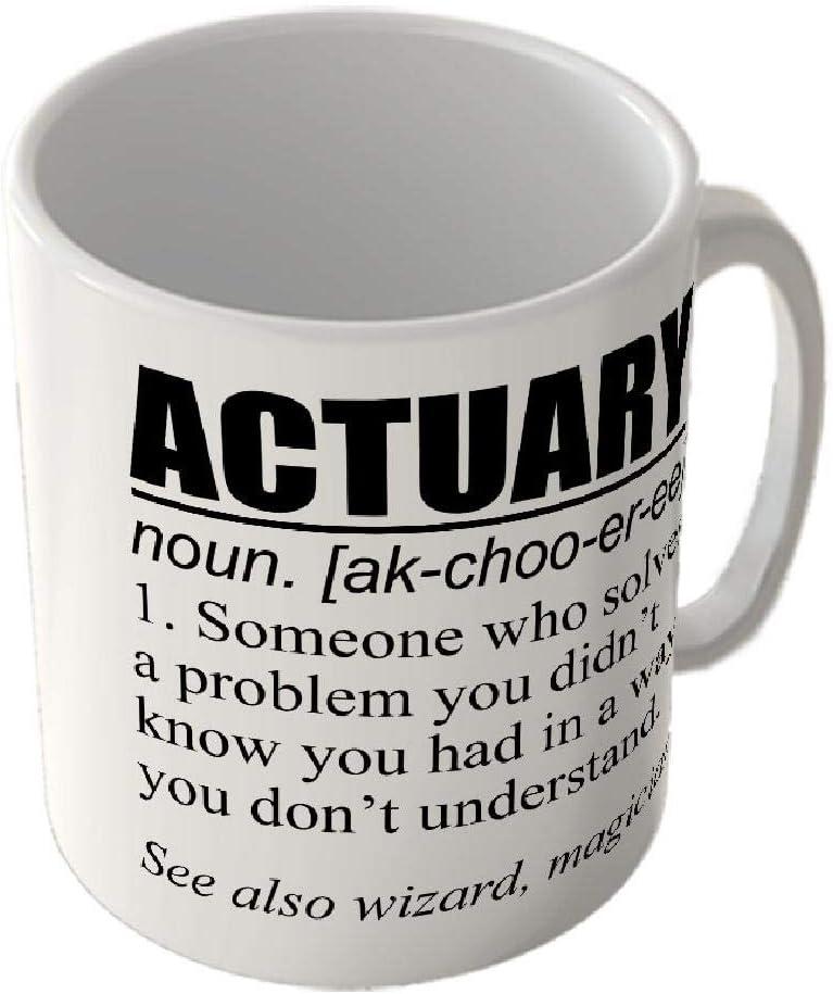 McMug Mug/_Fun/_2458 Actuary Definition Taza
