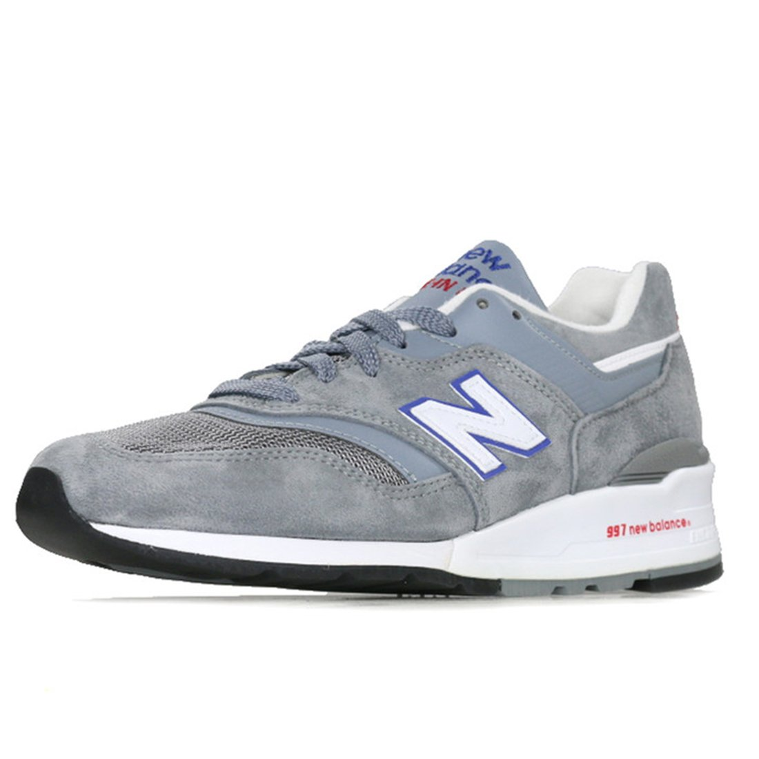 TALLA 7,5. New Balance M997, CNR blue-red