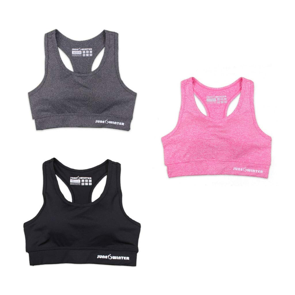 Sports Bra 3 Or 4 Or 5 Pack Seamless Stretchy Removable Pads for Yoga Running Fitness Workout