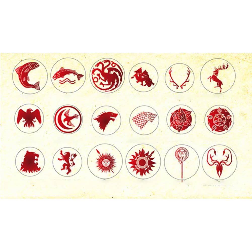 Hilai Vintage Custom Timbre scellant Sceau de Cire Kit pour Les Invitations de Mariage Cartes-Cadeaux Papier enveloppe Stationnaire 1 Ensemble