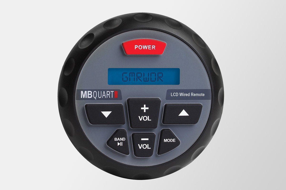 MB QUART GMRWDR Wired Remote For GMR 2 Marine ATV Boat Radio Stereo Receiver by MBQUART