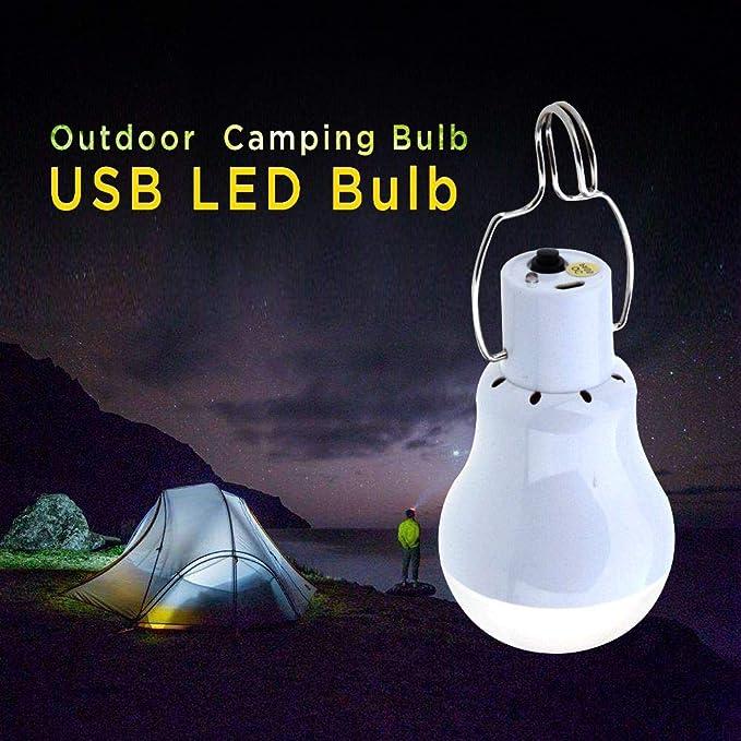 ext/érieur 9/W 6500/K Ledmomo ampoule USB portable Pour camping Nocturne pour la maison urgence entrep/ôt