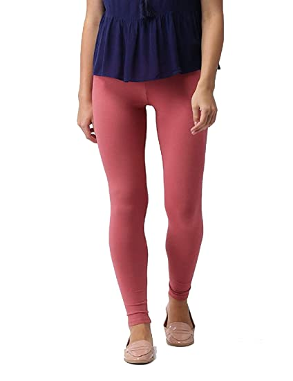 Go Colors Womens Cotton Lycra Ankle Length Leggings Amazon In Clothing Accessories