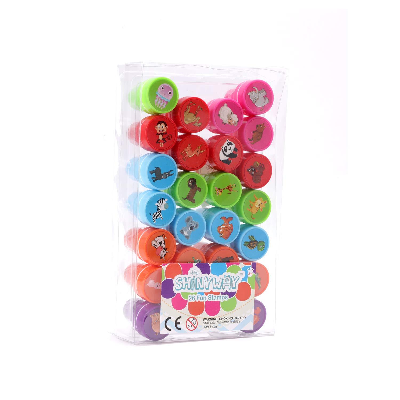 Amazon.com: Unetox - Sellos de juguete para niños, diseño de ...