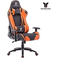 Techfection Gaming Stuhl Geeignet für Unterhaltungs/Büroarbeit Qualitativ hochwertiger Gamingstuhl/Bürostuhl Genaue Verarbeitung Ergonomischer Einstellbare Racing Stuhl